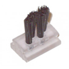 Stylus Needle cleaning brush. fitted to most jukeboxes some how. Essential to keep the record dirt off your needle and so prolonging the playing life