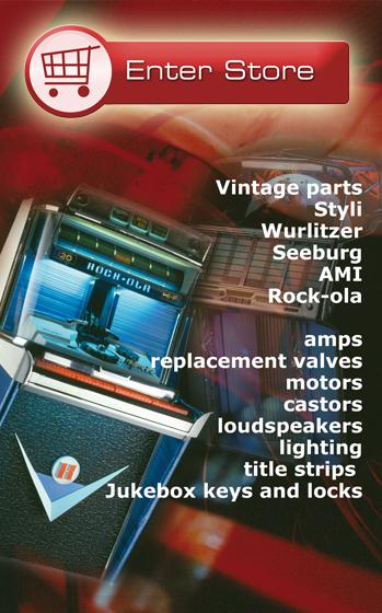 The Vintage Jukebox Spare Parts Website