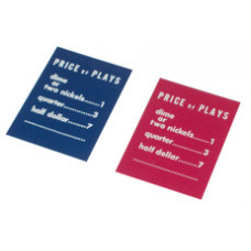 Price of Play card (Blue)