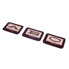 Inserts for Upper Pushbuttons Tempo 2 -  120 select