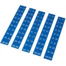Seeburg titlerack letters/numbers for Model M100BL