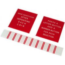 Seeburg Models M100A, 100B and 100C instruction window set