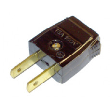 USA 2 pin mains plug