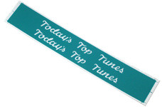 Record Classification strips STATIC titlerack model 2100