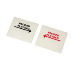 Decal for the pop-up flags left and right -Record Playing-